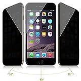 Solobay - Protector de Pantalla para iPhone 6 y 6S (Cristal Templado, protección de privacidad), Compatible con iPhone 6 iPhone 6S