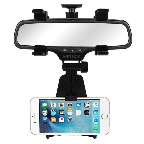 Soporte de móvil espejo retrovisor coche