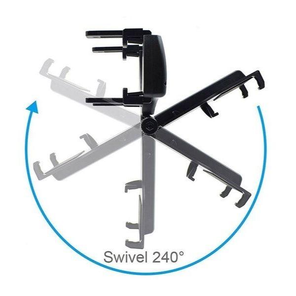 Soporte móvil ajustable espejo retrovisor