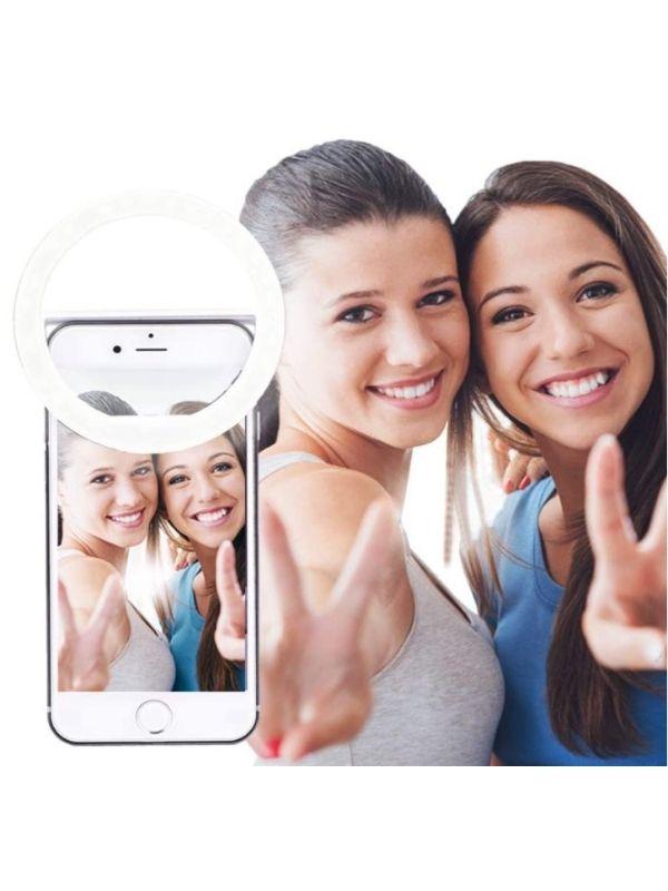 AUTOPkio Aro de luz de móvil para Selfie