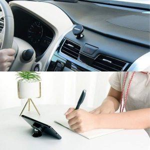 Agarre magnético del móvil en salpicadero coche