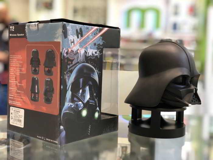 Altavoz Bluetooth Darth Vader