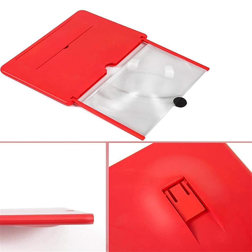 Amplificador de pantalla lupa 3D para móvil a todo color