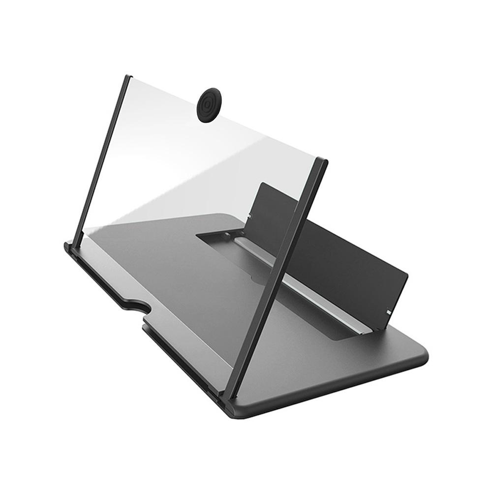 Amplificador de pantalla lupa 3D para móvil a todo color negro