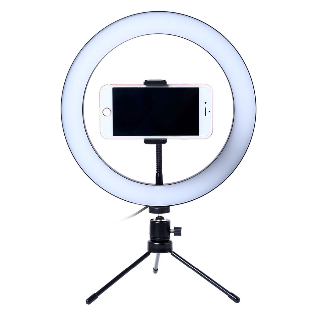 Anillo de luz para móviles
