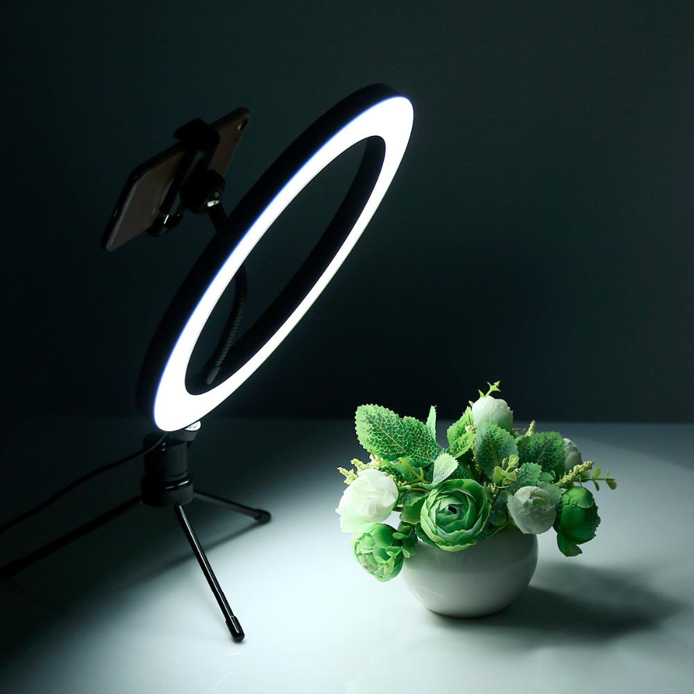 Anillo de luz regulable