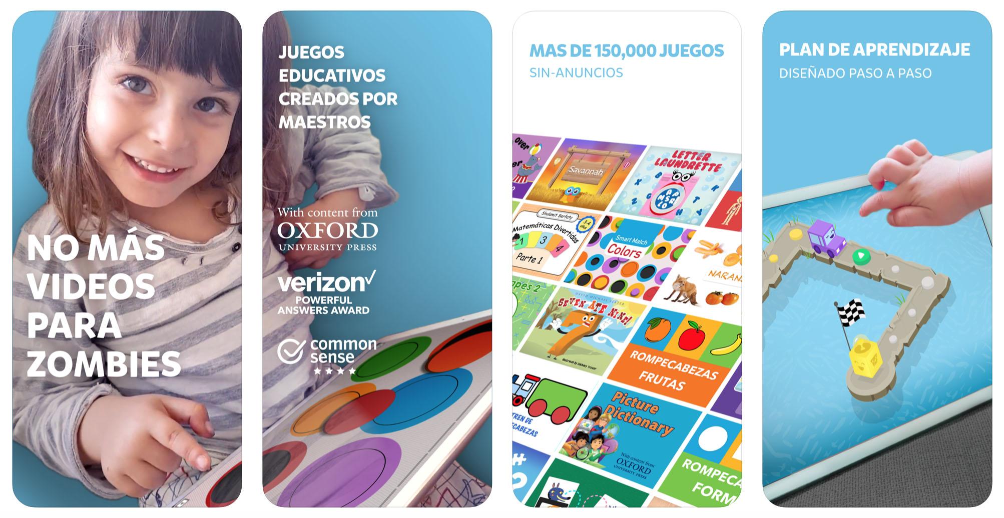 Aplicacion TinyTap - Juegos Educativos