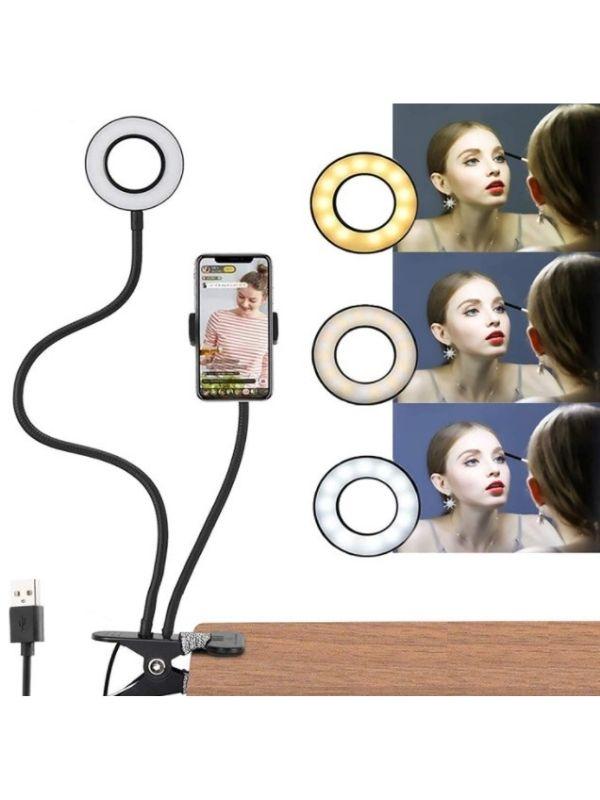 Aro de luz flexible para Tik-Tok