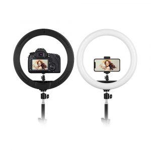 Aro de luz led y trípode plegable + soporte para móvil