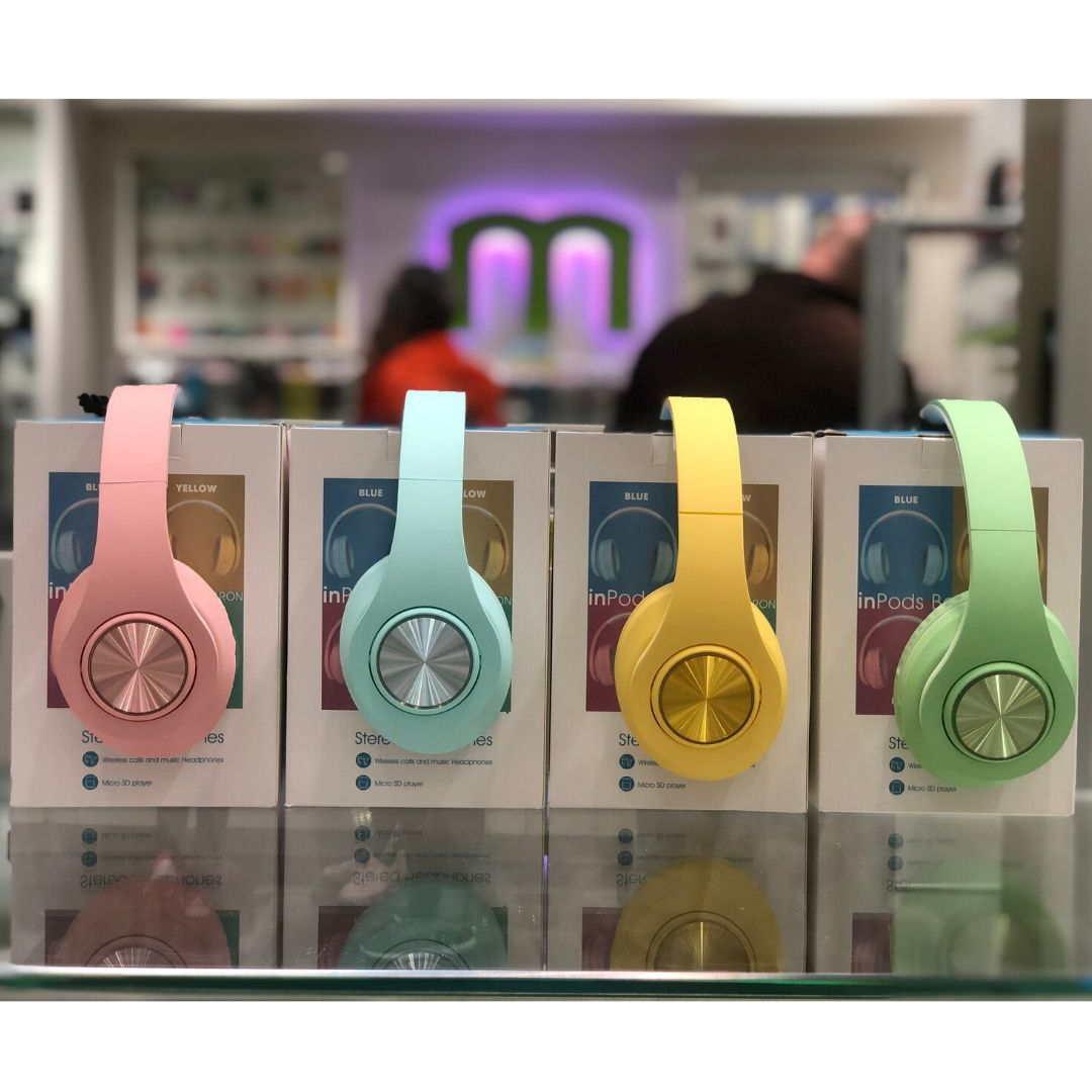 Auricular Bluetooth InPods Boom Macaron