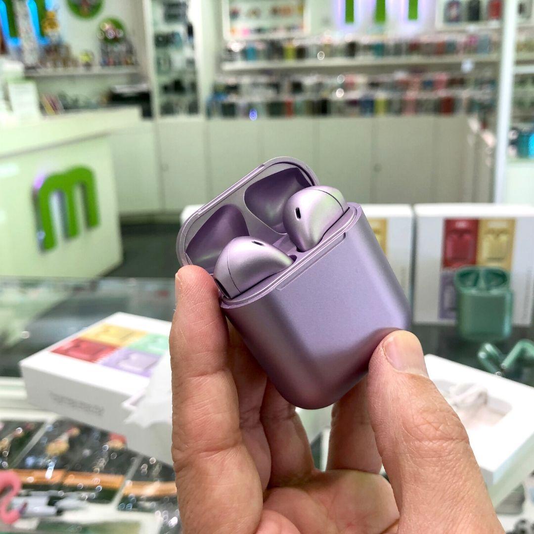 Auricular InPods 12 color púrpura