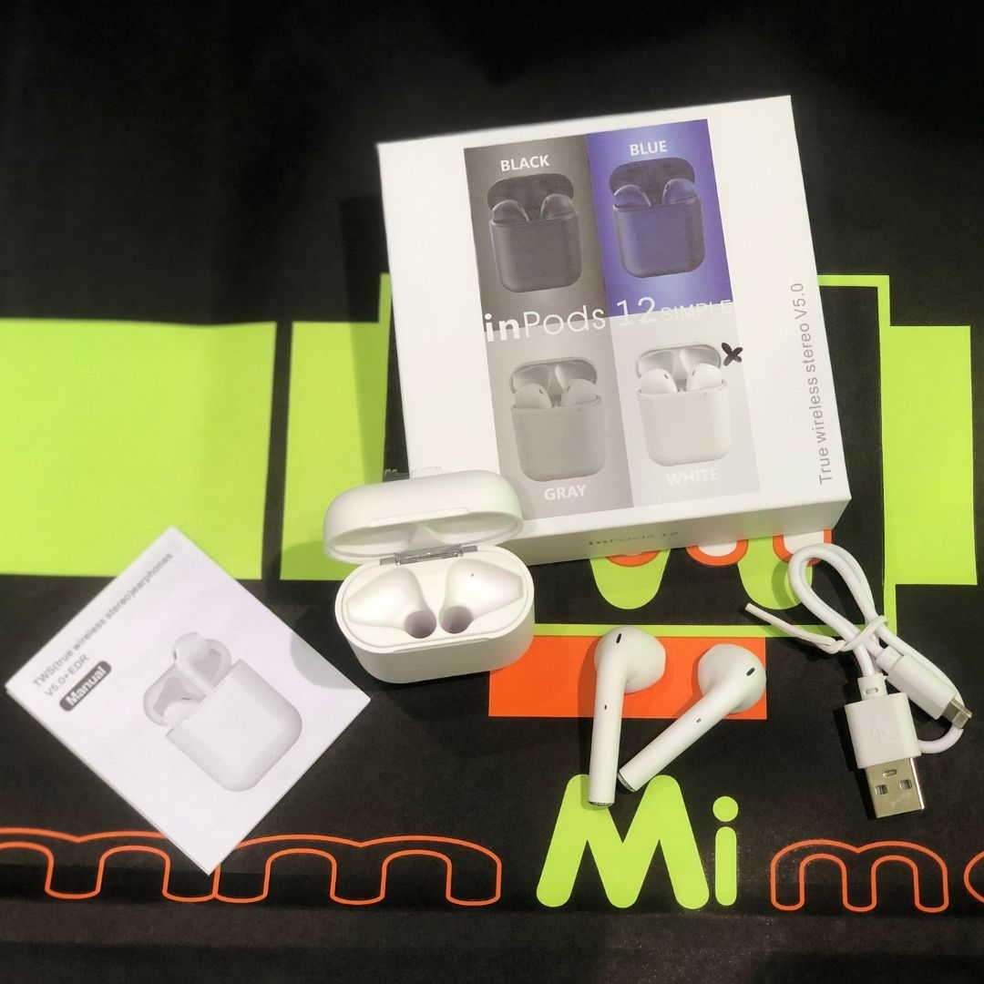 Auricular inalámbrico InPods 12 Simple