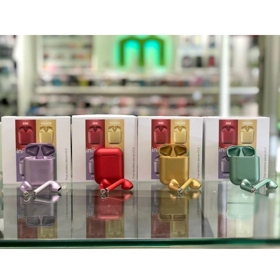 Auriculares InPods 12 colores metalizados