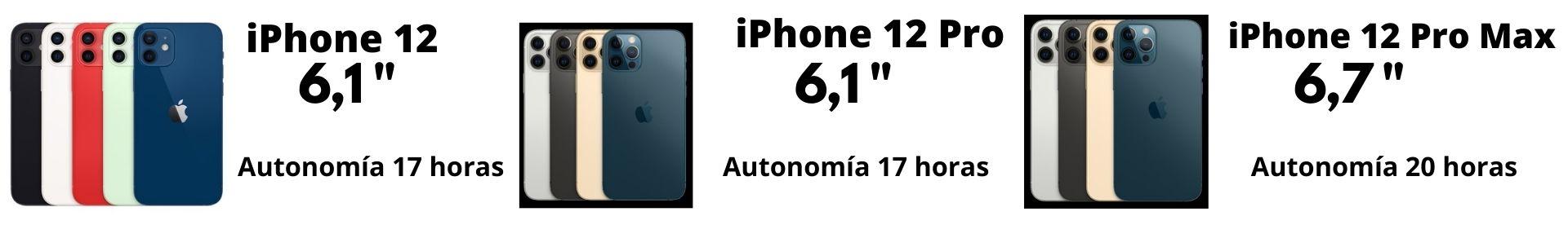 Baterías iPhone 12-12 Pro-12 Pro Max