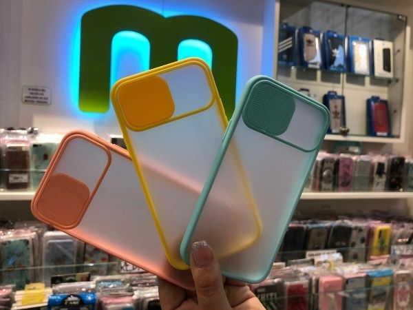 Carcasa deslizante protectora para smartphone