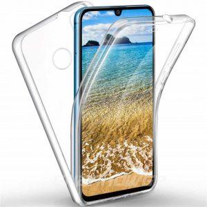 Carcasa doble transparente Samsung Galaxy