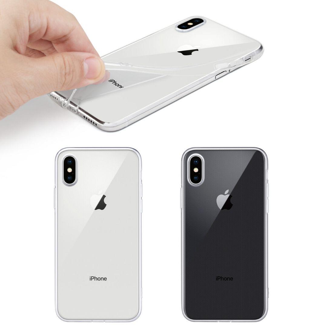 Carcasa gel transparente iPhone