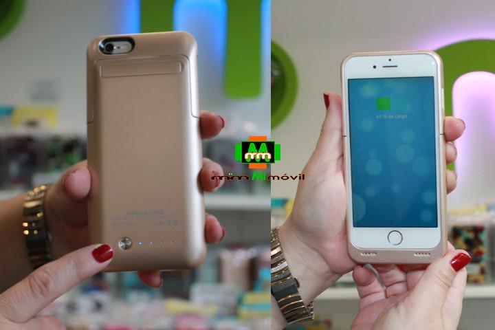 Carcasa con batería para iPhone