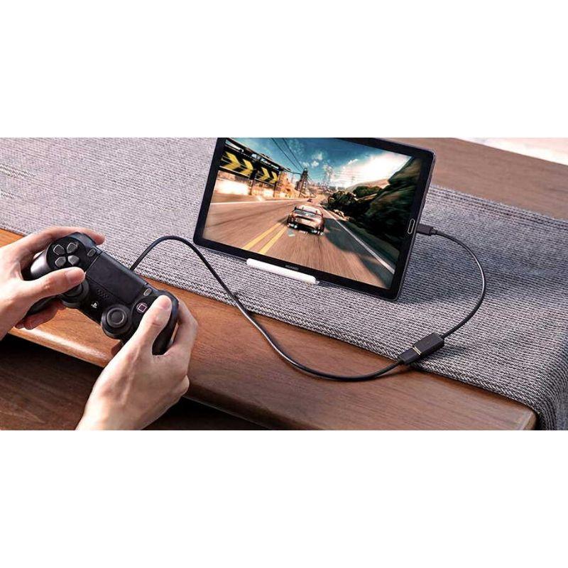 Conectar mando de juego cable OTG
