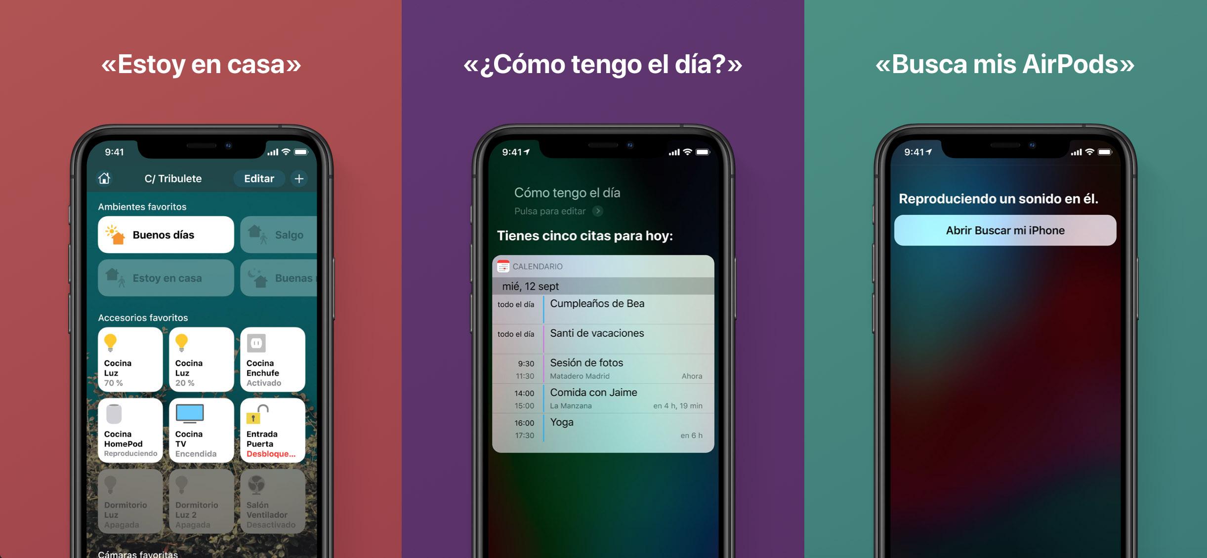 Cosas que puede hacer Siri