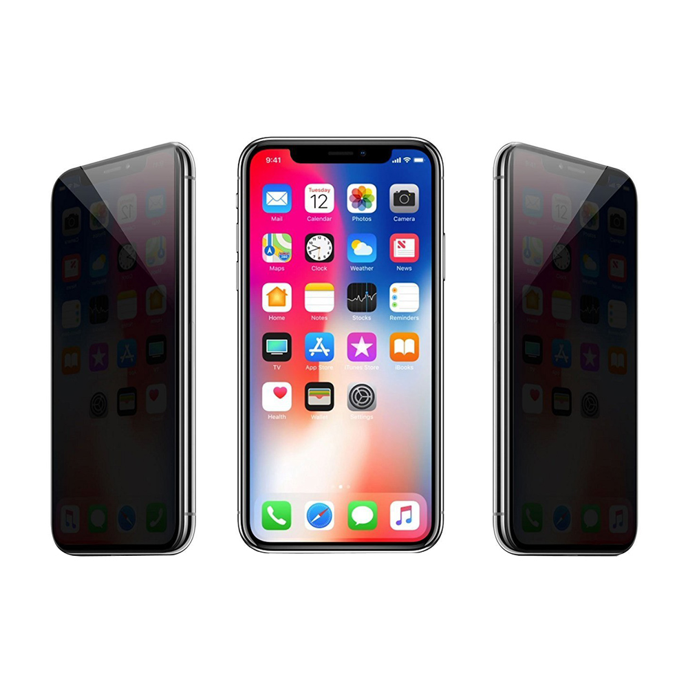 Cristal templado antiespia iPhone X