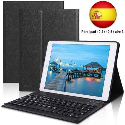 D Dingrich-Funda teclado Bluetooth iPad 2019 7ª Generación