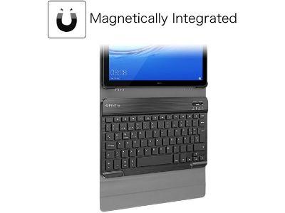 Funda con teclado Bluetooth imantado extraíble