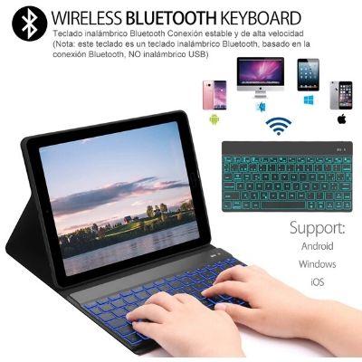 Funda con teclado extraíble Samsung Galaxy Tab A 2019