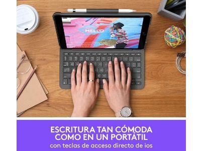 Funda con teclado inalámbrico Logitech