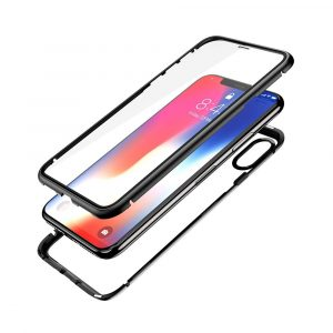 Carcasa doble magnética con cristal templado iPhone X/XS