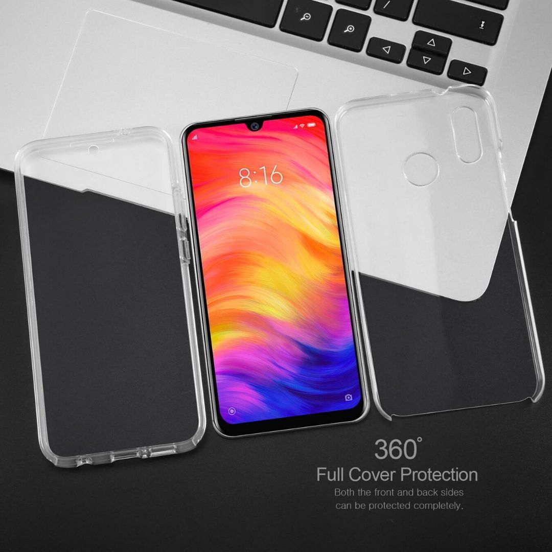 Funda doble transparente Samsung Galaxy