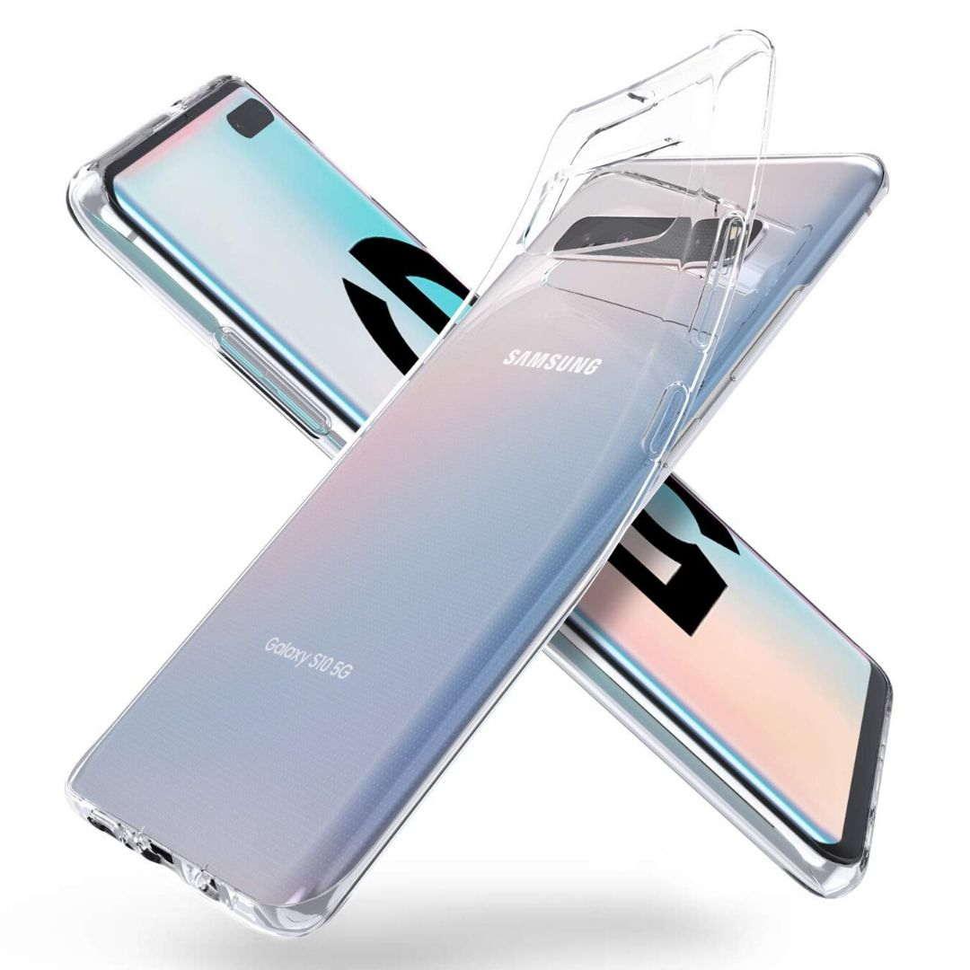 Funda gel transparente< Samsung Galaxy