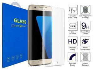 Galaxy S7 Edge-Cristal templado 3D