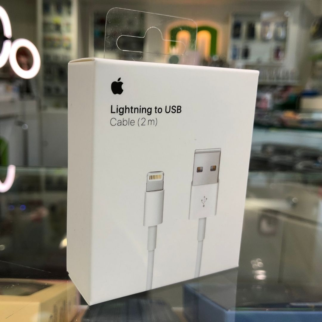 Cable original Apple Lightning to USB 2 metros