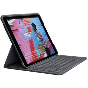 Logitech-Funda teclado Bluetooth iPad 2019 7ª Generación