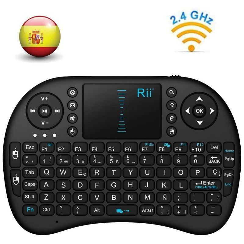 Mini teclado ergonómico Rii Mini i8
