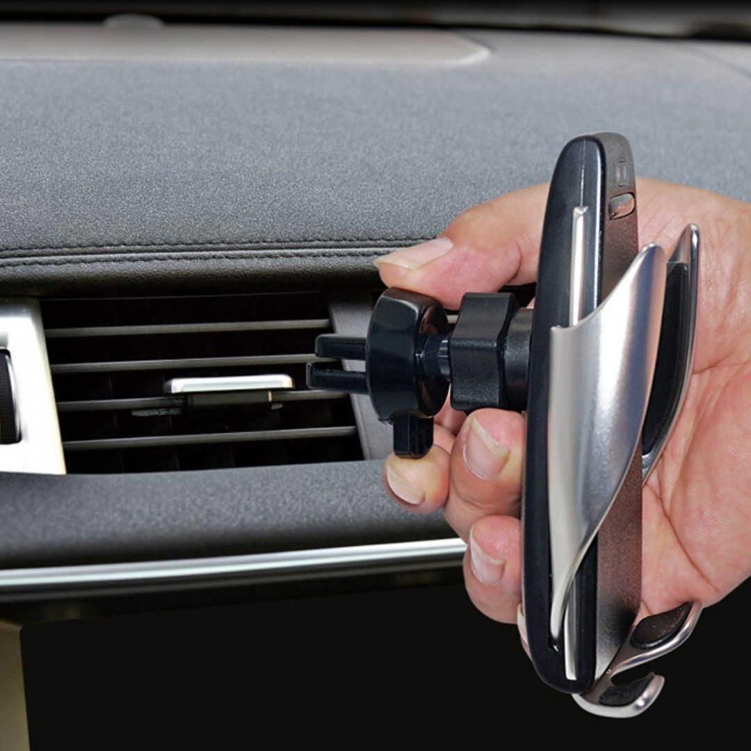 Soporte automático para el móvil S5