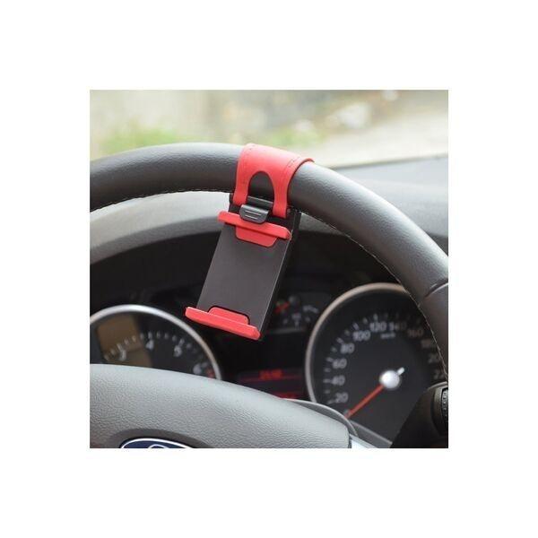Soporte de móvil para volante de coche