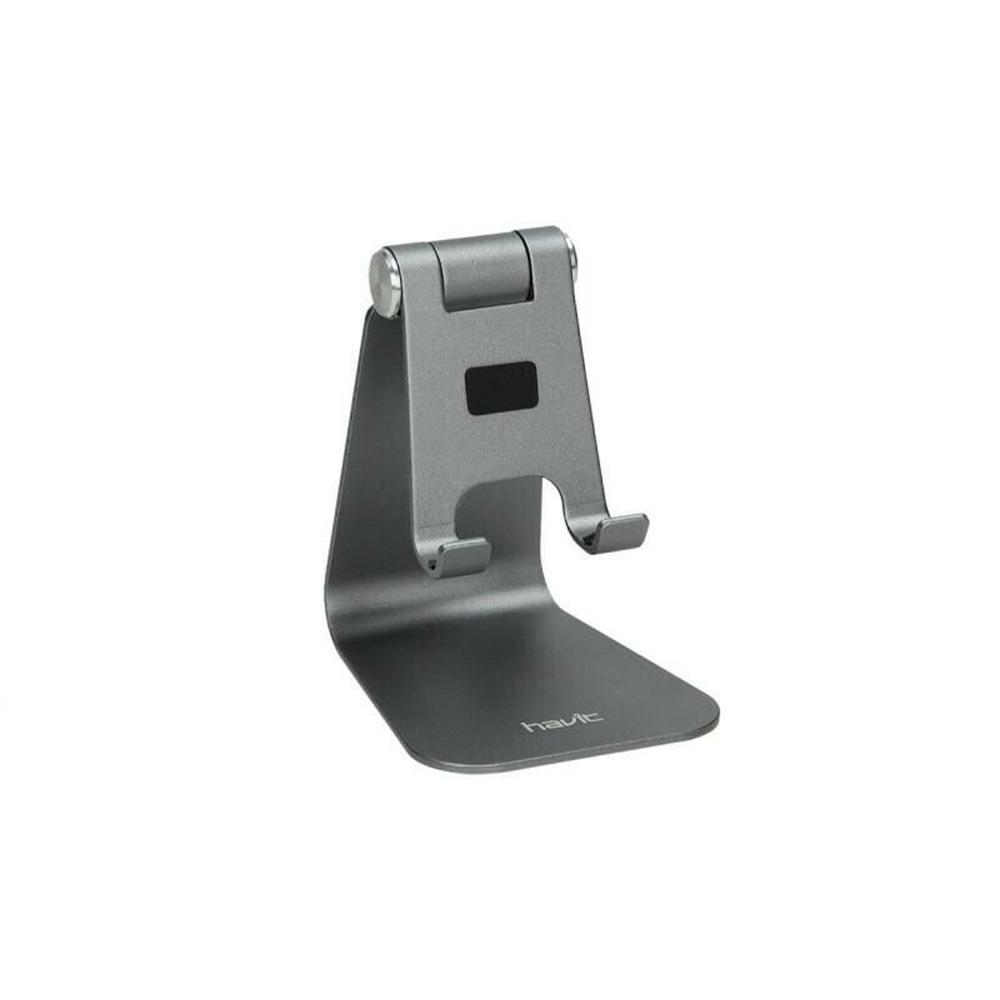Soporte metalizado Havit para móvil