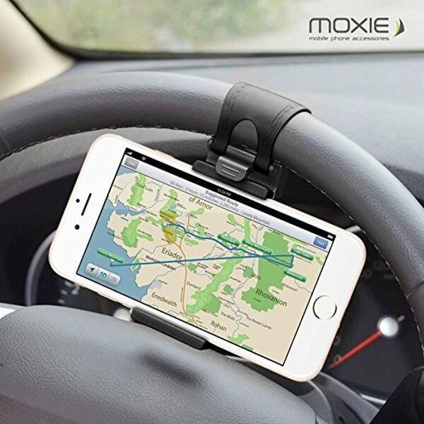 Soporte universal de móvil para volante de coche