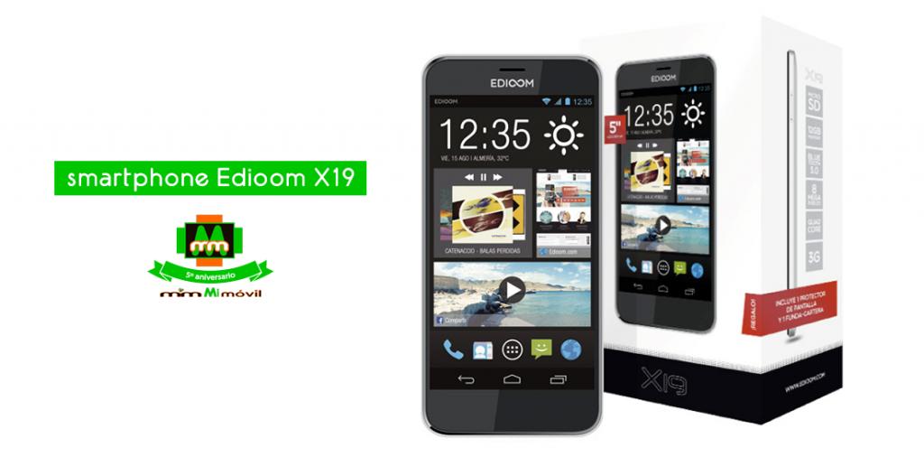Sorteo smartphone Edioom X19