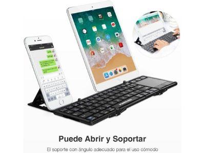 Teclado inalámbrico para tablet POWERADD
