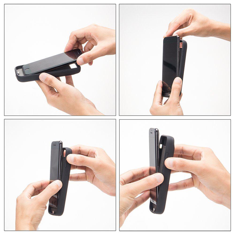 Carcasa con batería para iPhone X