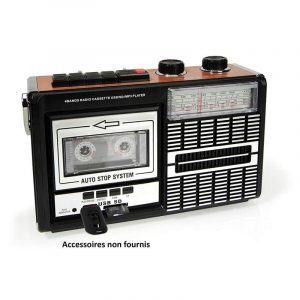Ricatech PR85 - Back to The 80s - Reproductor y Grabador de casetes