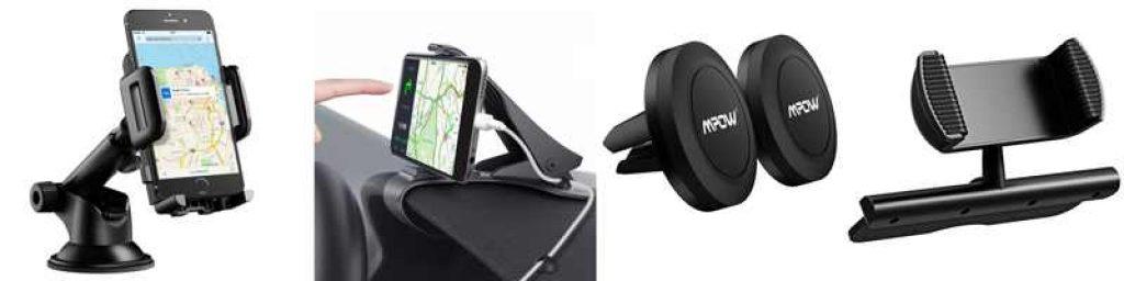 Soportes de móviles para coches