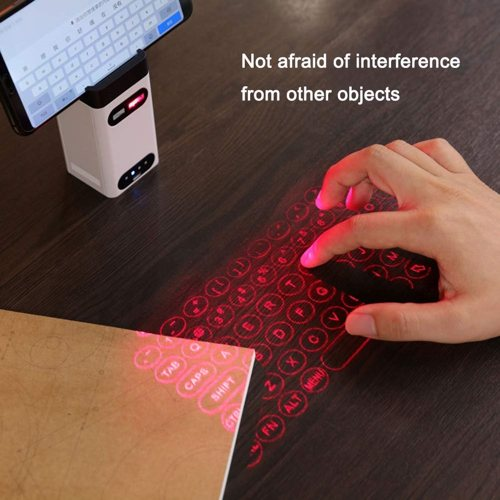 teclado holográfico