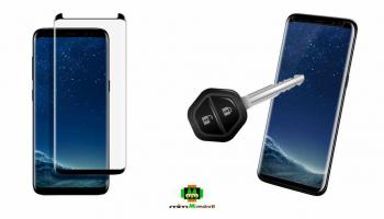 Soluciones para la pantalla curvada del S8/S8 Plus