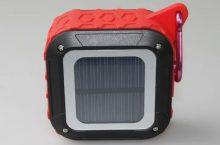 Altavoz impermeable Bluetooth y carga solar CH-365B