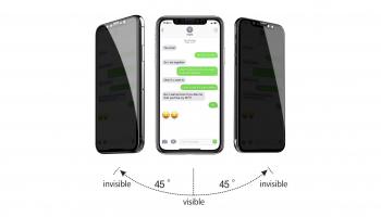 Cristal templado antiespía para iPhone